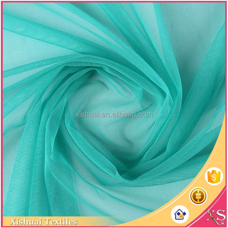 Alibaba China Cheap price Modern Tulle polyester open weave fabric