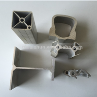 Various type of aluminium profile for Solar panel mounting rail