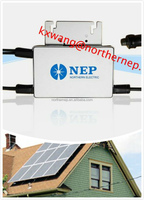 grid tied Qingdao MPPT Pv Solar Micorinverters 250w micro inverter for home use