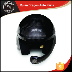 SNELL SAH2010 open face safety helmet BF1-R6 rally race(Carbon Fiber)