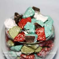HACCP Certification top quality stone chocolate for sale Korean sweet food