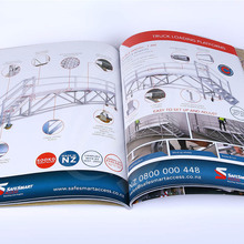 Free Design 157 Art Paper Custom Commercial TriFold Brochure Printing