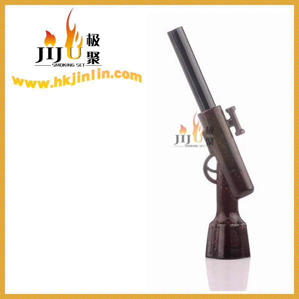 JL-036 Yiwu Jinlin Electric Smoking Water Vapor Pipes Antique L Shape Pipe