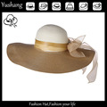 New design fashional sunnmer beach wide brim sun visor hat
