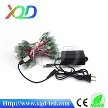 china supplier led christams lights star shadow projector lights 50pcs 1903 ic own simple control and power