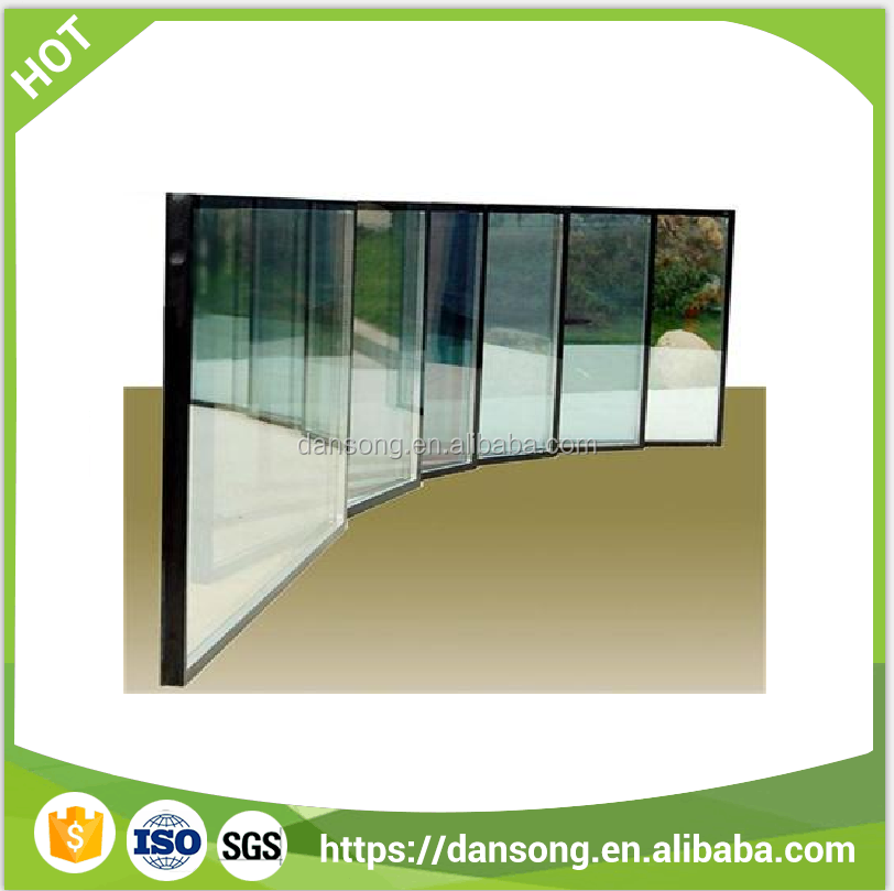 chinese supplier provide Building Glass with high quality safe tempered insulated glass rooms