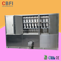 Bitzer Compressor Ice Cube Maker Machine for Bahrain