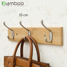 over door clothes hook hanger , unique wall bamboo Board clothes board hook for bath