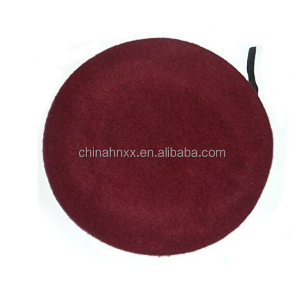 High quality Army 75-100grams of 70% Wool and 30%acrylic military beret in different color