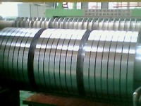 Galvanized coil slitting