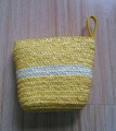 Top Seller Promotion Wheat Straw Cosmetic Clutch Bag