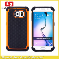 Combo 2 In1 Detachable Hybrid Silicone+pc Full Cover Hard Case For Samsung Galaxy S6 G920