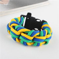 Newest Survival Paracord Emergency Bracelet Rope