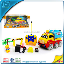 4 Channel Remote Control Cartoon Car 4WD Tractor 4WD Truck 4WD Toy Car For Kids 4WD Truck For Boys 4WD Truck With CE Certificate