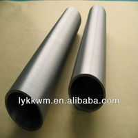 CE Quality factory price Mo-1 99.95% molybdenum tube pipe for sapphire crystal growing furnaces