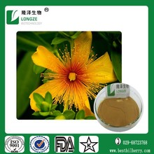 Best herbal plant Extract St Johns Wort Extract Hypericin hypericins Extract Powder/0.3% Hypericins for neuro diease healing