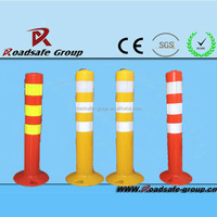 Manufacture flexible bollard reflective delineator post /guide post / T post