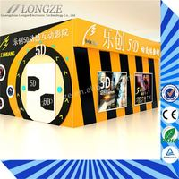 Factory Price multi-seats wonderful oversea market bottom price 5d projector cinema in china