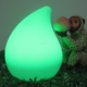 Rechargeable 16 colors changing mood light cordless table lamp led battery operated led light