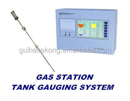 petrol station underground diesel tank automatic tank gauge ATG/ magnetostrictive probe oil tank level sensor