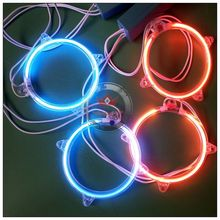 80mm waterproof led angel eyes with inverter