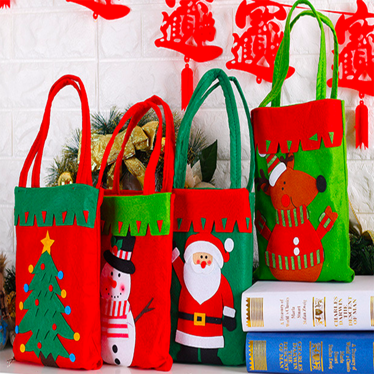 Christmas theme handbag,Christmas promotion bag,Fancy Christmas bag