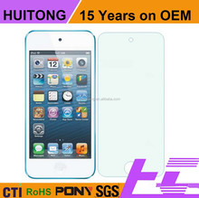 15 years factory supply best price for ipod touch 5 tempered glass screen protector