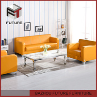 Highest quality german furniture leather sofa -509