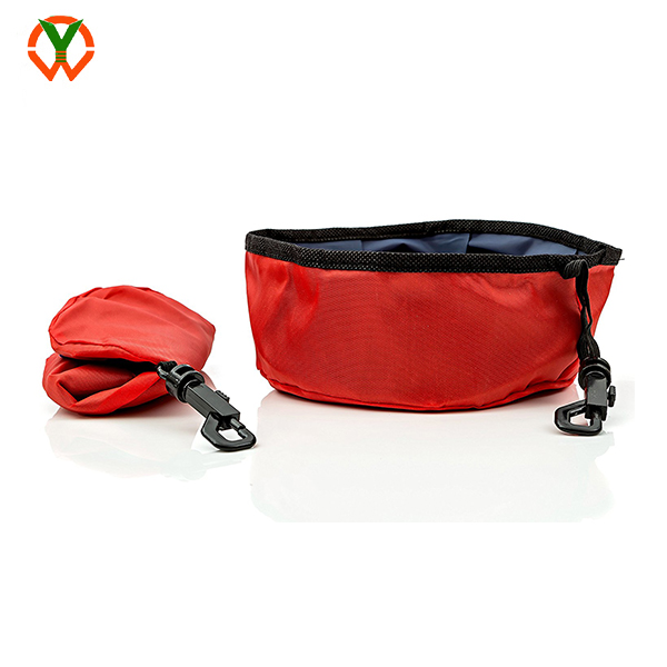 Travel Pet Folding Collapsible Bowl for Food and Water
