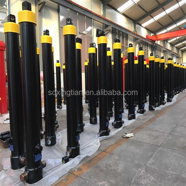 front mount tipping hydraulic cylinders for tipper semi trailer
