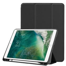 Ultra slim Pu Leather Smart case stand cover For all ipad with stylus slot