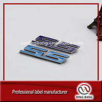 Wholesale Cheap Individual Packaged 3M Adhesive Type Custom 5S Logo Plastic Connected Enamel Emblem