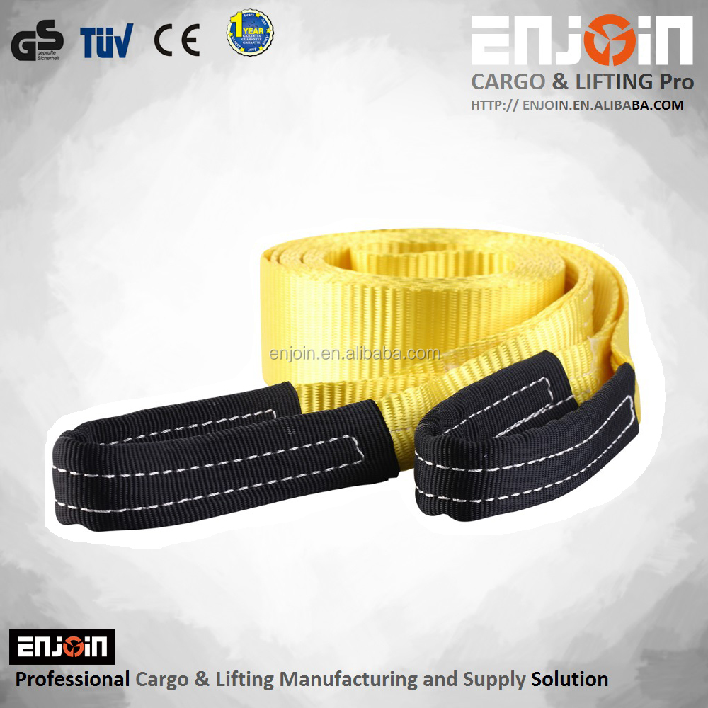 ENJOIN Emergency Recovery Strap Tow Strap Polyester Construction Resists Cuts And Tears