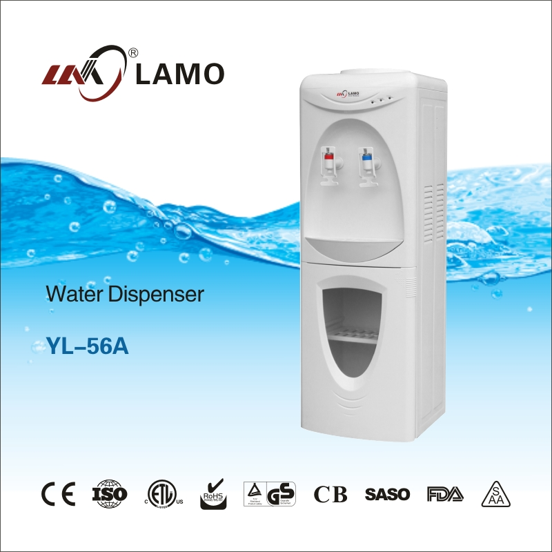 Plastic Water Dispenser, Hot and Cold Water Machine,Stand Water Dispenser YL-56A