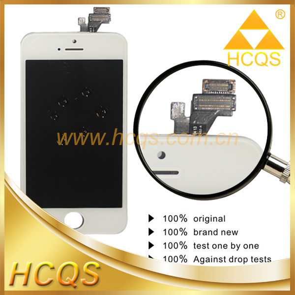 Cell phone parts lcd completed for iphone 5,lcd oem for iphone 5,lcd ecran for iphone 5