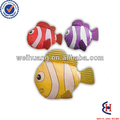 promotional clownfish foldable polyester shopping bag