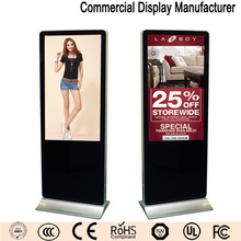 58 inch easy-to-use indoor advertising display lcd