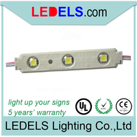 DC12V SMD 5050 LED lighting for box letter 0.72w with lens and 5 years warranty UL listed :E468389