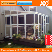 Norway thermal break aluminum winter garden with insulation double glass