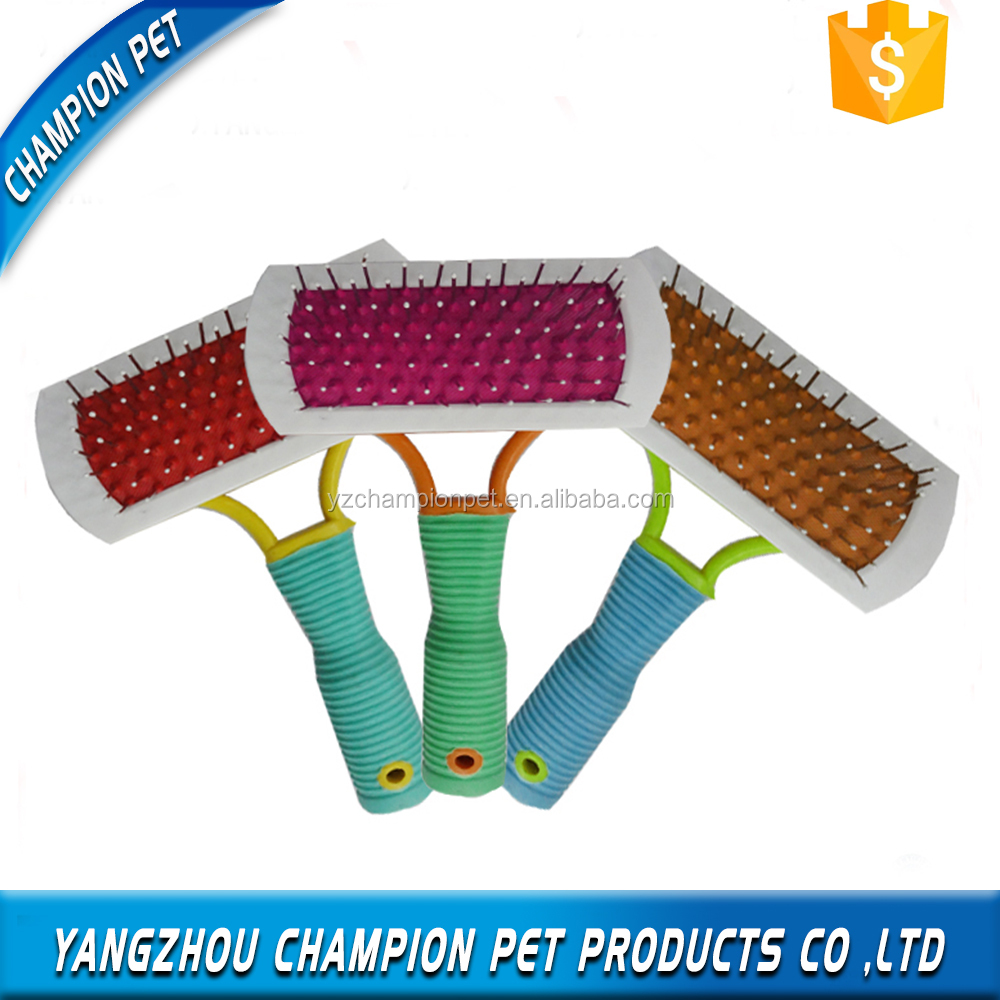 Dog Grooming Plastic Handle Pet Brush Supplies