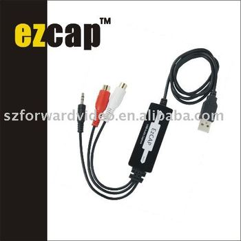 USB Audio Capture dongle ezcap216