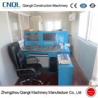 New Mini HZS35 Stationary Concrete Batching/Mixing Plant