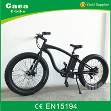 Gaea adult electric quad bike, israel snow electric bike/ fat ebike