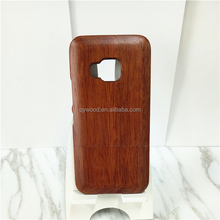 Custom rosewood cell phone case printed wooden mobile case for HTC one M 9