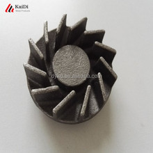 water pump parts iron casting impeller