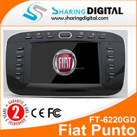 "6.2"" GPS Sat Nav DVD Player digital TV DVB for Fiat Punto Linea autoradio car DVD"