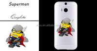 Personalized Custom Logo Picture Printing Mobile Phone Soft TPU Cover phone case for htc one m9