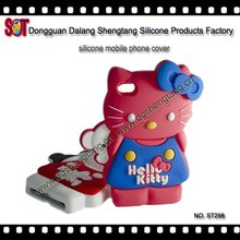 Animal mobile phone silicone case for iphone 4/4s