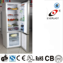 Super New Design Double Door Refrigerator with Water Dispenser, Bottom Freerzer Refrigerator, Down Freezer Refrigerator