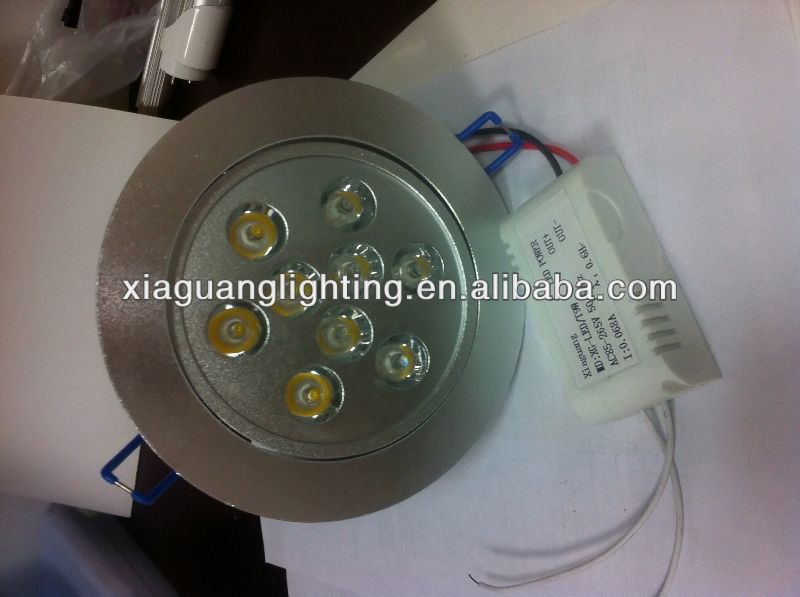 2013 hot sales led downlight components make in china